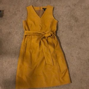 J. crew wool shift dress